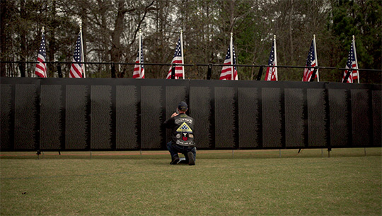 The Wall That Heals in York, Maine